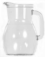 Кувшин стеклянный 1 л для подачи напитков UniGlass Bistrot