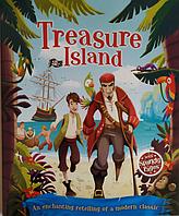 Книга на английском языке Treasure Island (Остров сокровищ) (адаптированная литература)