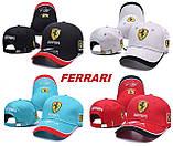 Різні кольори FERRARI кепка бейсболка чоловіча, жіноча феррарі, фото 3