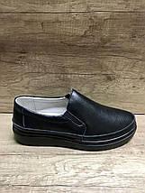Женские кожаные легкие туфли на толстой подошве ALLSHOES 8360-1, фото 2