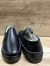 Женские кожаные легкие туфли на толстой подошве ALLSHOES 8360-1, фото 3