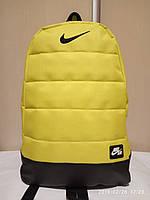 Спортивный рюкзак Nike (Найк), желтый цвет ( код: IBR023Y )