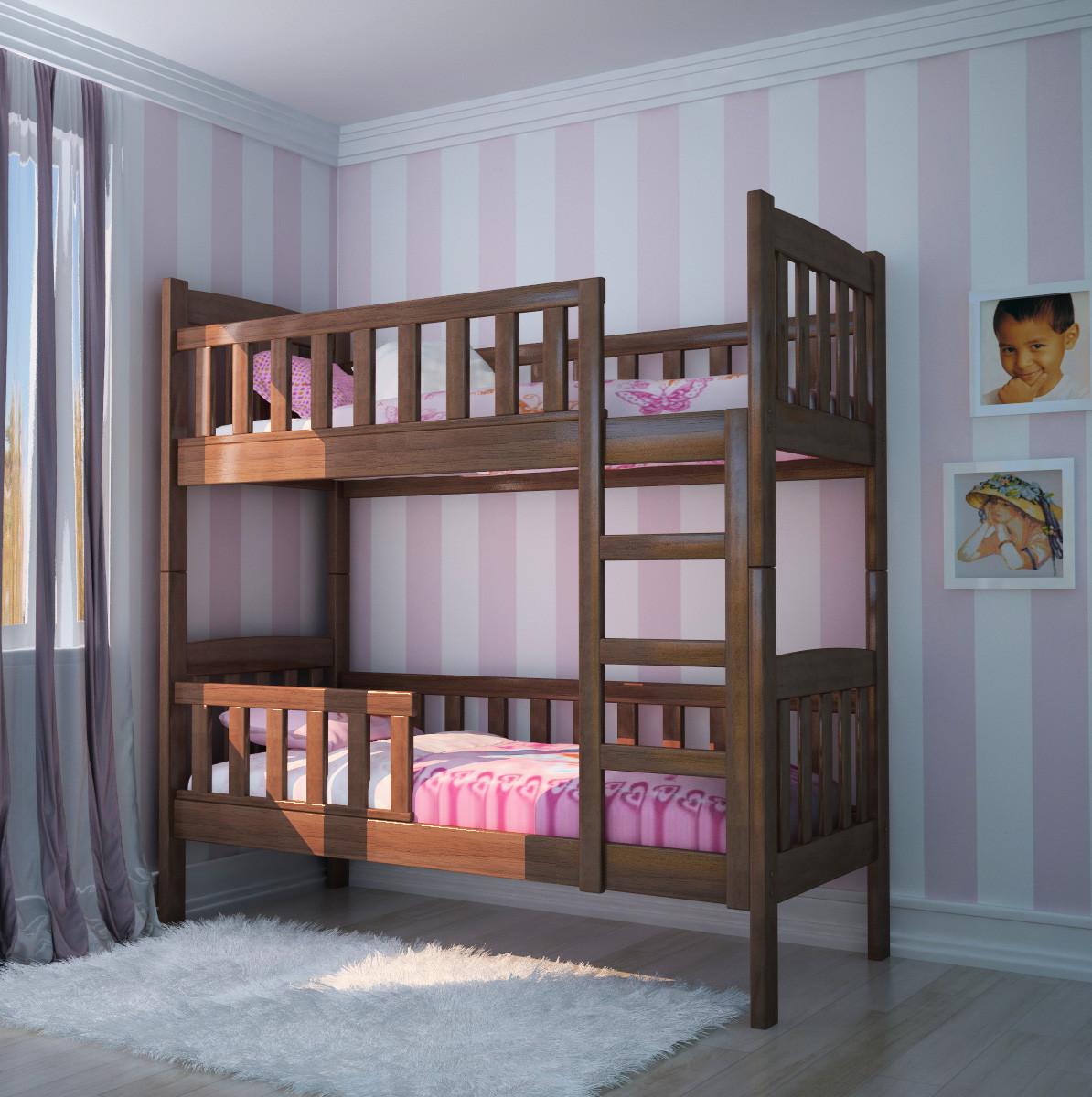 Двухъярусная кровать «Полночь»  1 Сорт