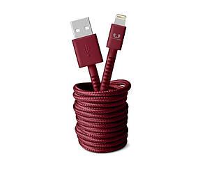 Кабель Fresh 'N Rebel Fabriq Lightning Cable 3м ruby (2LCF300RU) EAN/UPC: 8718734655367, фото 2