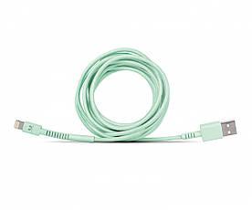 Кабель Fresh 'N Rebel Fabriq Lightning Cable 3м pepermint (2LCF300PT) EAN/UPC: 8718734651901, фото 2