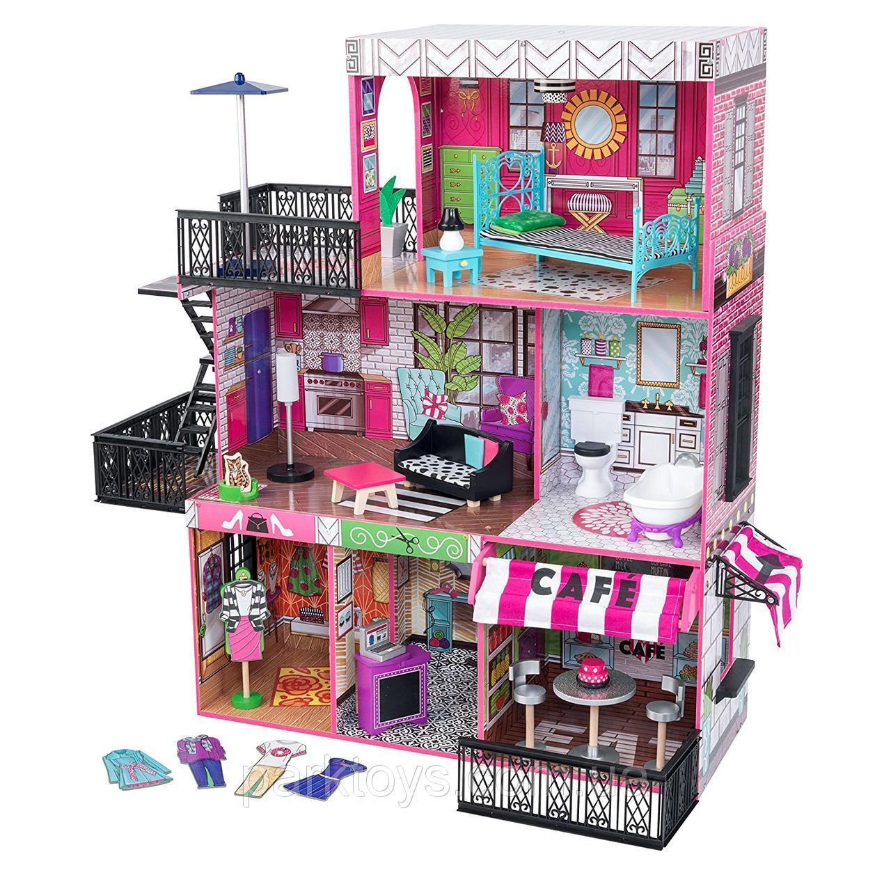 Кукольный домик, «Brooklyn's Loft» KidKraft 65922