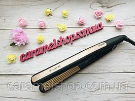 Утюжок ГОФРЕ плойка для волосся з турмаліновим покриттям Gemei GM-2955W