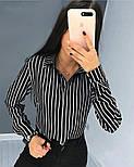 """Жіноча блузка в смужку """"Felicity"""", фото 7"""