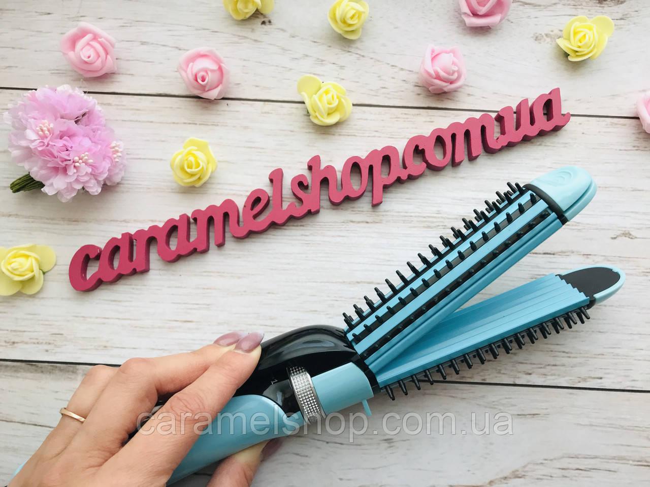 Стайлер  плойка гофре утюжок для волос GEMEI GM-2922 (3 в 1) d = 25 мм