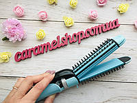 Стайлер  плойка гофре утюжок для волос GEMEI GM-2922 (3 в 1) d = 25 мм, фото 1