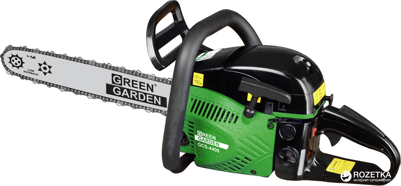 Цепная пила Green Garden GCS-4400 + 2 шины и 2 цепи
