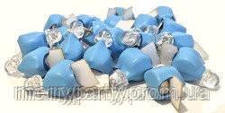 Светодиод голубой немигающий для воздушных шаров, декора 1 шт.