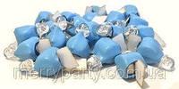 Светодиод голубой немигающий для воздушных шаров, декора 1 шт., фото 1