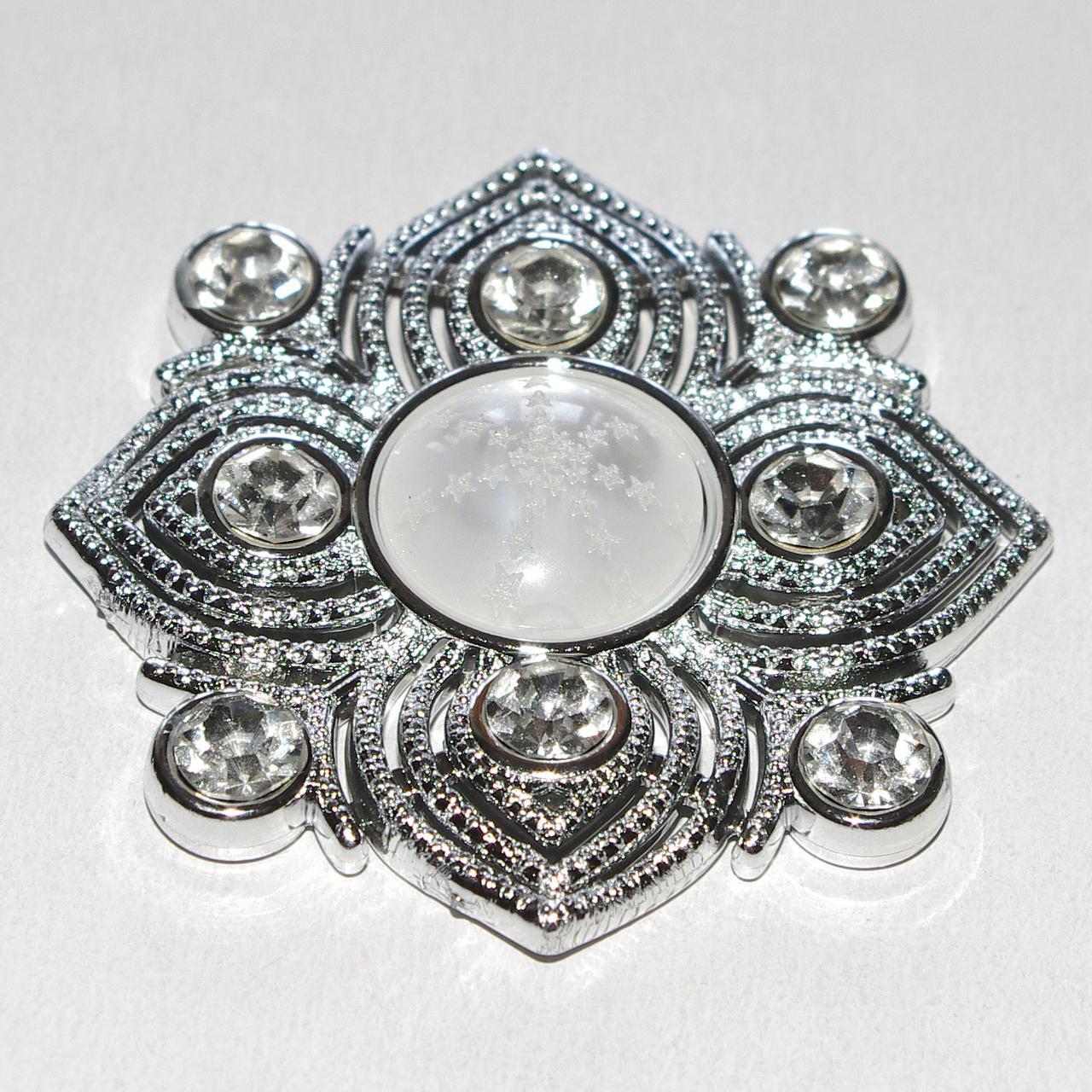 Декоративный магнит подхват для штор и тюлей F062