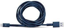 Кабель Fresh 'N Rebel Fabriq Type-C Cable 1.5м indigo (2CCF150IN) EAN/UPC: 8718734655459, фото 2