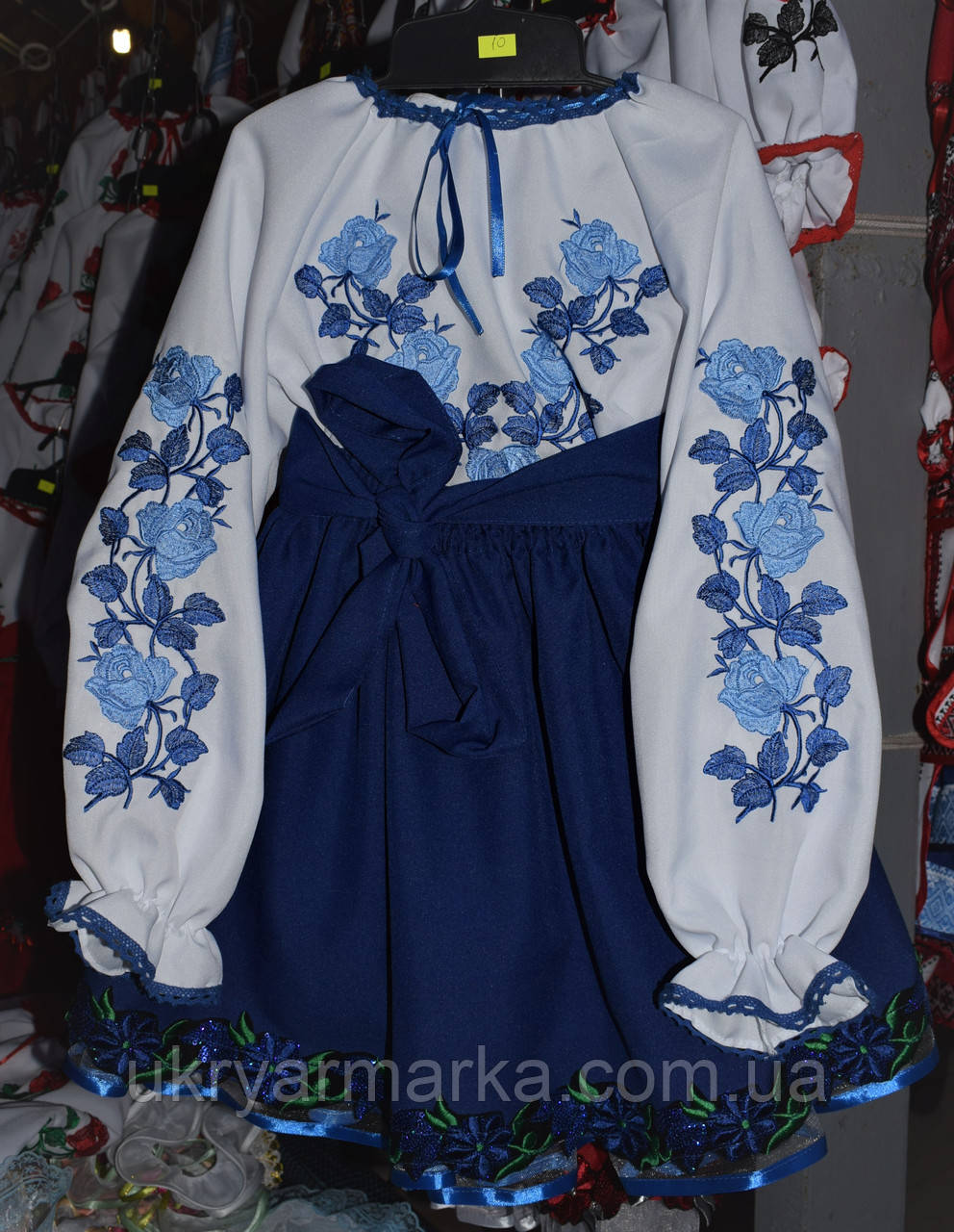 """Плаття для дівчинки """"Сніжана"""""""