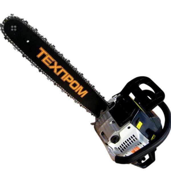 Бензопила Tехпром ТБП-6400 п/п метал. стартер 1ш/ 1ц праймер съемн.звездочка