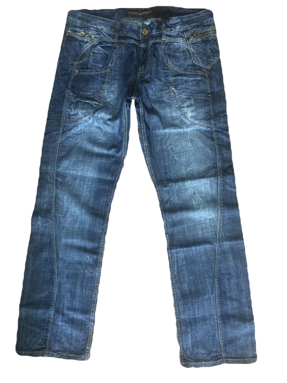 Джинсы мужскик Franco Benussi 1153 синие