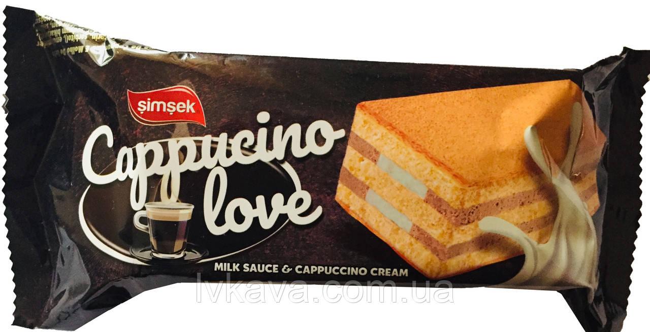Бисквит  Cappucino love Simsek , 60 гр