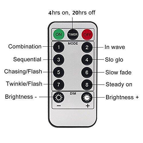 Светодиодная гирлянда 100 LED 10м  с пультом управления