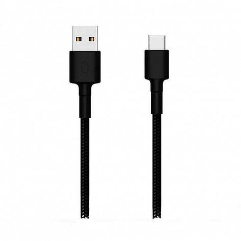 Дата кабель Xiaomi Mi Braided USB Type-C Cable 1m black (SJV4109GL) EAN/UPC: 6934177703584, фото 2