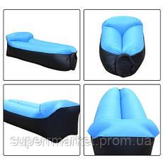Lamzac 1.5m - Надувной диван ламзак AIR CUSHION sofa-2 реплика, фото 2
