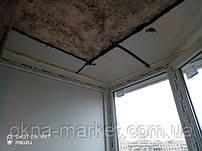 Остекление балкона под ключ Киев на ул.Йорданская 8 (бригада 13)