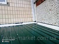Крыша на балкон, работы выполняла бригада 13