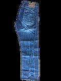 Джинсы мужскик Franco Benussi 1153 синие, фото 4