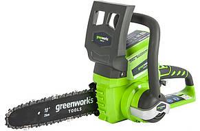 Аккумуляторная цепная пила Greenworks G24CS25 (2000007)
