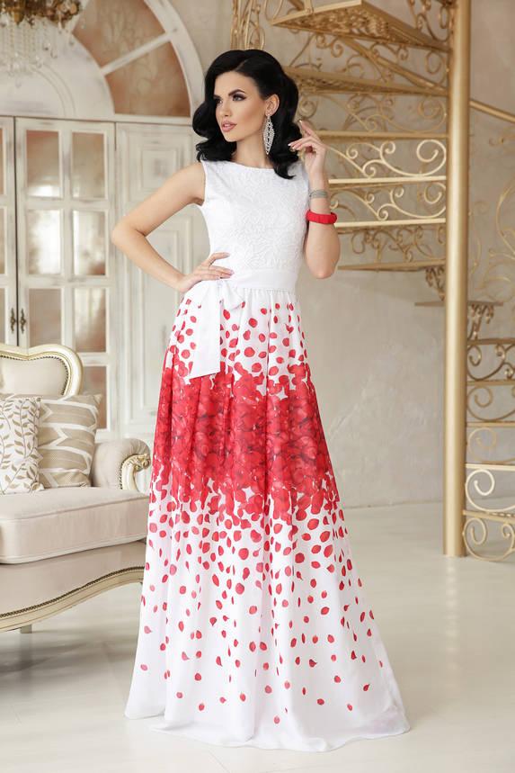 Вечернее выпускное платье в пол, фото 2