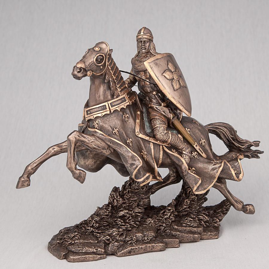 Статуэтка Veronese Рыцарь на коне 24 см 70039