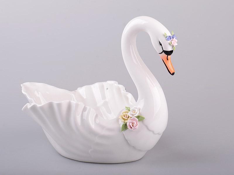 Фруктовница Lefard Лебедь 25 см 101-746