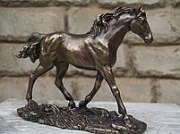Статуэтка Veronese Бегущий конь 14 см 76064 A1, фото 2