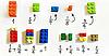 Математика с лего