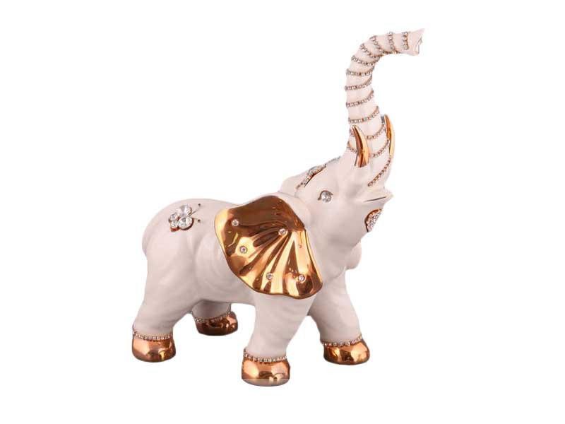 Статуэтка Lefard Слон 30 см фарфор 98-1074