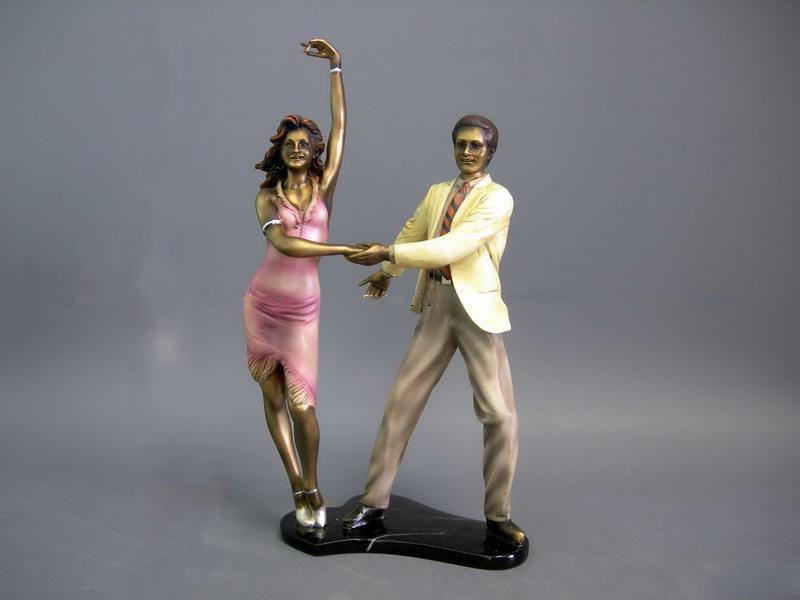Статуэтка Пара в танце 35 см полистоун