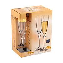 Набор бокалов для шампанского Crystalex 6 штук 674-120, фото 2