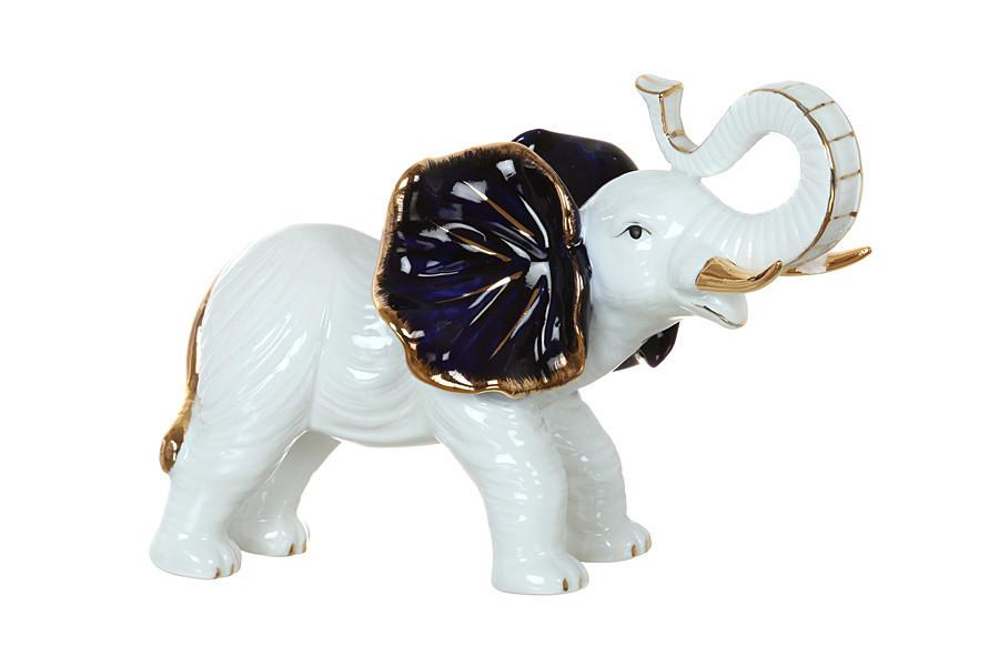 Статуэтка Lefard Слон 25 см фарфор 98-093