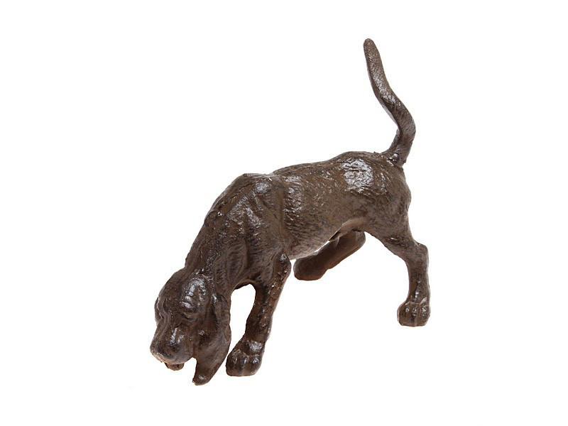 Статуэтка декоративная Собака 27 см металл 768-009