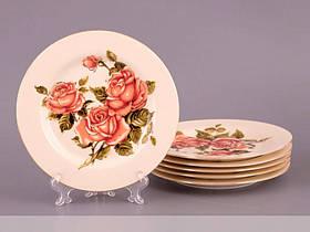 Набор тарелок Lefard Корейская роза 6 предм. 126-502