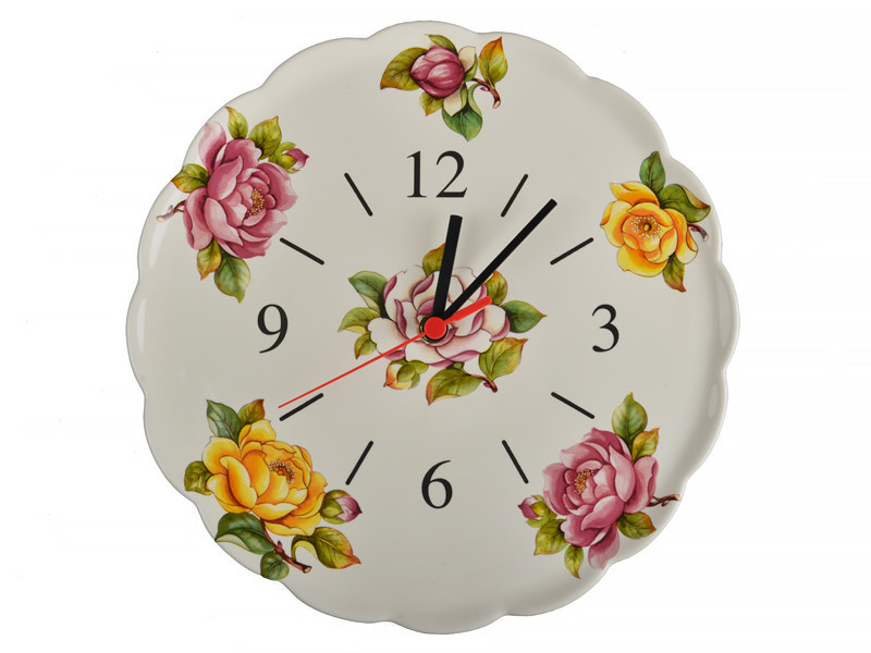 Часы настенные кухонные Nuova Cer  30 см 612-011