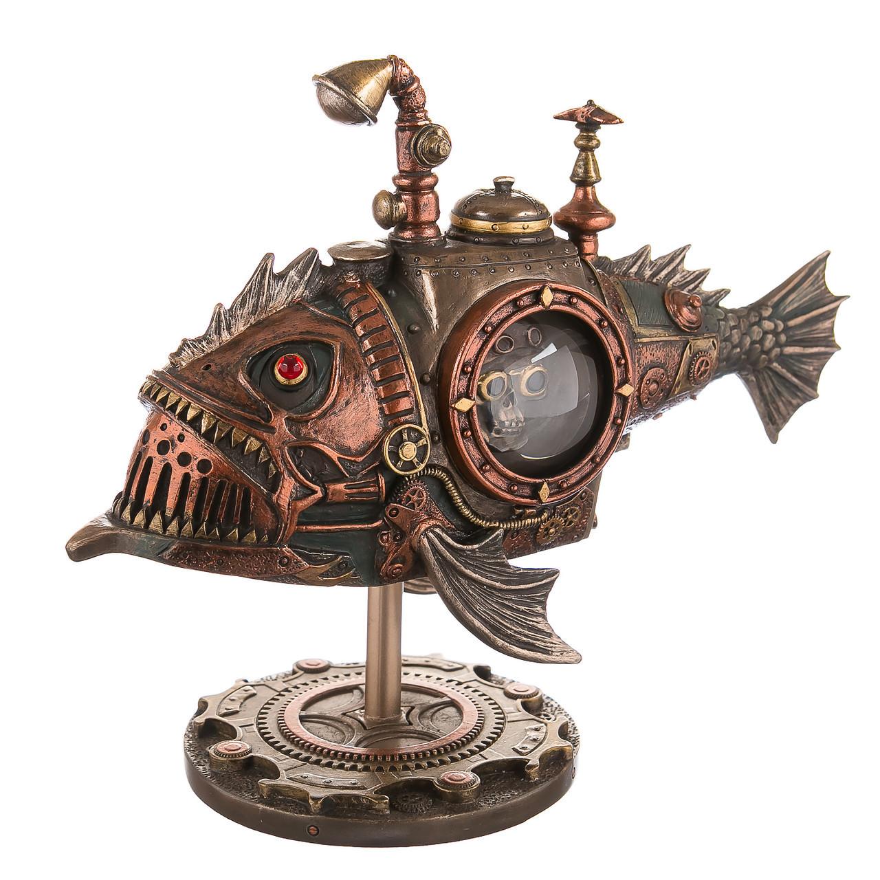 Статуэтка Veronese Механическая Рыба 18 см 76795