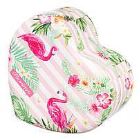 Шкатулка для украшений Сердце Фламинго Unicorn Studio 16х17х7 см0602JA, фото 3
