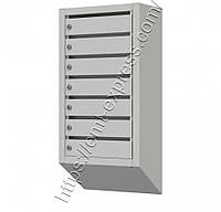 Ящик почтовый многосекционный на 7 ячеек