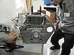 Двигатель дизельный Weima WM188FBE (вал под шлицы, съемный цилиндр), фото 8