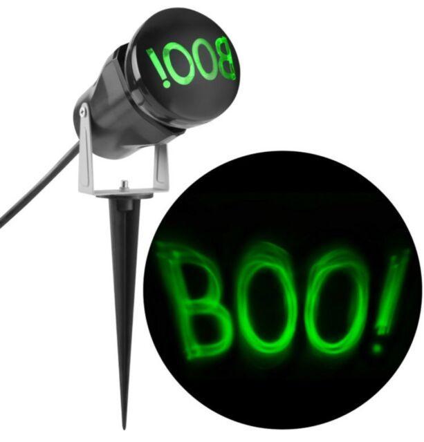 """Лазерный проектор для Хеллоуина проекция """"Boo"""" водостойкий для наружного  использования"""