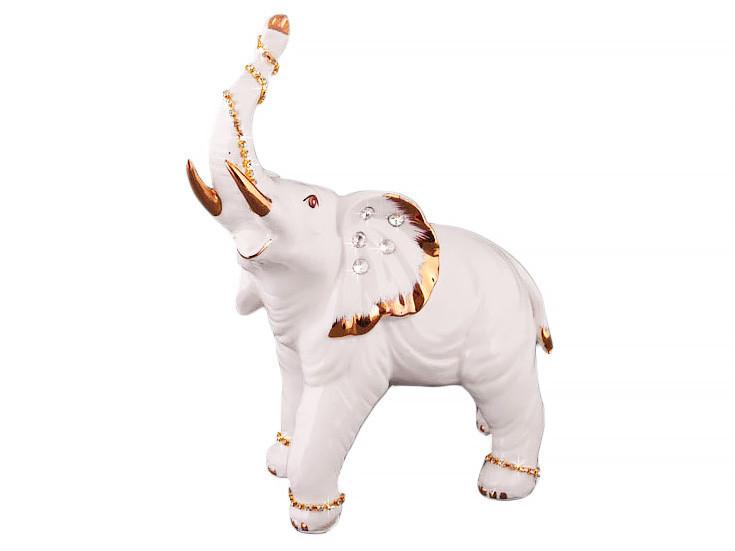 Статуэтка Lefard Слон 29 см фарфор 276-110