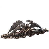Статуэтка Veronese Влюбленные ангелы 9х35 см 74859