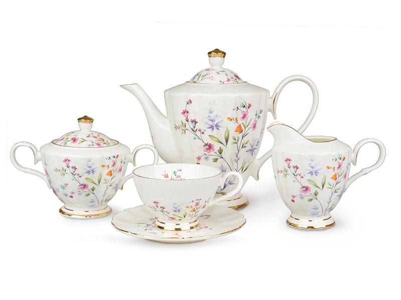 Чайный набор Lefard Цветы на 15 предметов 586-314